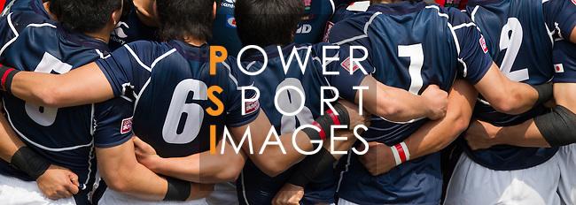 Tonga vs Hong Kong on Day 2 of the 2012 Cathay Pacific / HSBC Hong Kong Sevens at the Hong Kong Stadium in Hong Kong, China on 24th March 2012. Photo © Manuel Queimadelos / The Power of Sport Images