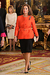 Ana Botella, Mayor of Madrid city during the Spain's National Day Royal Reception at Royal Palace on October 12, 2014 in Madrid, Spain. October 12 ,2014. (ALTERPHOTOS/Pool)