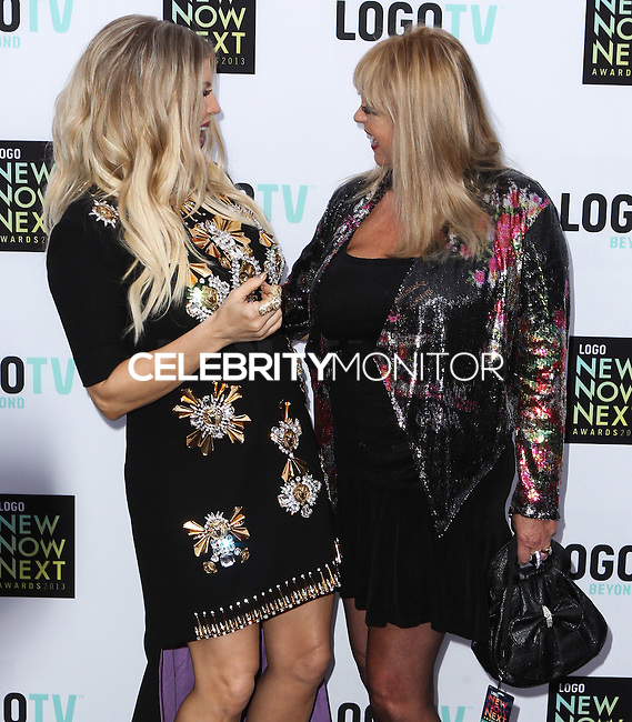 [(FILE) Singer Fergie (Fergie Duhamel) gives birth to boy, Axl Jack Duhamel on August 31, 2013] HOLLYWOOD, CA - APRIL 14: Singer Fergie (Fergie Duhamel) arrives at the Logo NewNowNext Awards 2013 held at The Fonda Theatre on April 14, 2013 in Hollywood, California. (Photo by Xavier Collin/Celebrity Monitor)