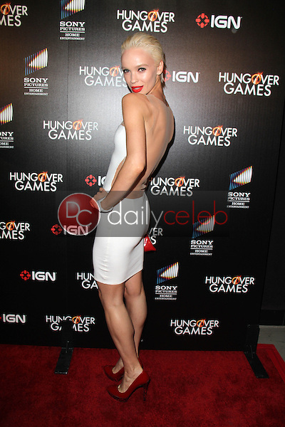 Ania Spiering<br /> at &quot;The Hungover Games&quot; Premiere, TCL Chinese 6, Hollywood, CA 02-11-14<br /> David Edwards/Dailyceleb.com 818-249-4998