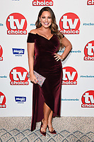 LONDON, UK. September 10, 2018: Kelly Brook at the TV Choice Awards 2018 at the Dorchester Hotel, London.<br /> Picture: Steve Vas/Featureflash