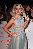 Mollie King<br /> Arrivals at the National Television Awards 2018 at The O2 Arena on January 23, 2018 in London, England. <br /> CAP/Phil Loftus<br /> &copy;Phil Loftus/Capital Pictures