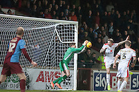 - Scunthorpe United vs MK Dons - Sky Bet League One Football at Glanford Park, Scunthorpe, Lincolnshire - 27/01/15 - MANDATORY CREDIT: Mark Hodsman/TGSPHOTO - Self billing applies where appropriate - contact@tgsphoto.co.uk - NO UNPAID USE