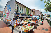 An area of  Singapore known as Little India, Singapore, 14 March 2015.