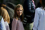 Princess Sofia of Spain visit the Enol lake in Asturias, Spain. September 08, 2018. (ALTERPHOTOS/A. Perez Meca)