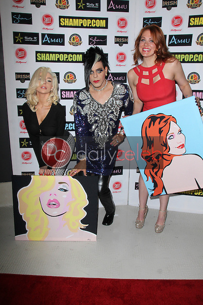 Courtney Stodden, Sham Ibrahim, Maitland Ward<br />