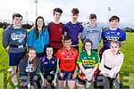 Killorglin Comm College taking part in the KETB Schools Senior Cycle Tag Rugby blitz in the Kerry Sports and Leisure Centre, Tralee on Monday.<br /> Kneeling l to r: Rebecca Coffy, Niamh O&rsquo;Sullivan, Kian Naylor, Ray Galvin and Celia Drngela.<br /> Standing l to r: Cian Lenihan, Julie Kelly (Teacher), Timothy McGrath, Peter Kyselica, Michael Sheahan and Cathal Kelly