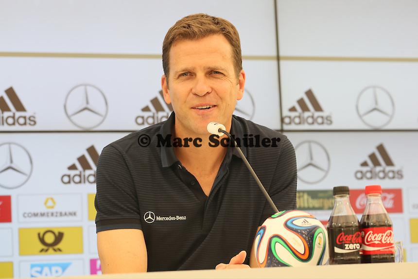 Oliver Bierhoff - Trainingslager der Deutschen Nationalmannschaft zur WM-Vorbereitung in St. Martin