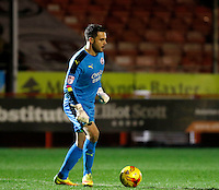 Crawley Town's Glenn Morris in action during the Sky Bet League 2 match between Crawley Town and Exeter City at Broadfield Stadium, Crawley, England on 28 February 2017. Photo by Carlton Myrie / PRiME Media Images.