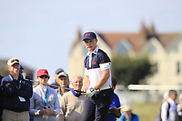 Conor Purcell (GB&I) on the 2nd tee during Day 2 Singles at the Walker Cup, Royal Liverpool Golf CLub, Hoylake, Cheshire, England. 08/09/2019.<br /> Picture Thos Caffrey / Golffile.ie<br /> <br /> All photo usage must carry mandatory copyright credit (© Golffile | Thos Caffrey)