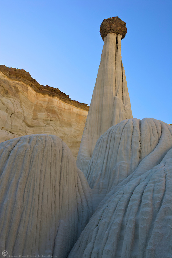 The famous hoodoos called the Towers of Silence