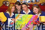 AT THE CAR WASH: With their project Sudzz Car Wash at the Kerry County Enterprise Boards' Annual Student Enterprise Awards on Tuesday were Pobail Scoil Chorca Dhuibhne students Ciara Murphy, Sinead Moriarty, Christina Galvin and Siobha?n O'Connor.   Copyright Kerry's Eye 2008