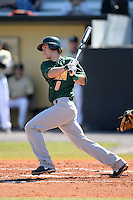 Siena Saints second baseman Mike Allen (8) during a game against the Central Florida Knights at Jay Bergman Field on February 16, 2014 in Orlando, Florida.  UCF defeated Siena 9-6.  (Mike Janes/Four Seam Images)