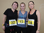 Laura Hendrick, Tina Collins and Lisa McCabe who took part in the Ferdia 5k run in Ardee. Photo: Colin Bell/pressphotos.ie