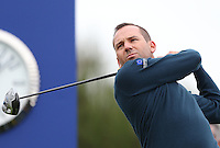 Sergio Garcia (EUR) during the first practice day ahead of the 2014 Ryder Cup at Gleneagles, Perthshire, Scotland 26th to 28th September 2014. Picture David Lloyd / www.golffile.ie.