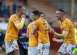 17.02.2019: Motherwell v Hearts: Charles Dunne, Jake Hastie and Tom Aldred