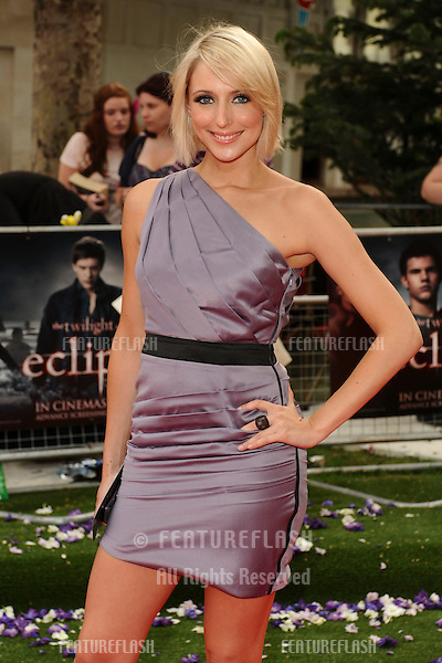 Ali Bastian arriving for the UK Premiere of 'The Twilight Saga: Eclipse', at Odeon Leicester Square, London. 02/07/2010  Picture by: Steve Vas / Featureflash