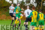 Action from Castleisland FC and Ballingarry in the FAI Junior Cup in Castleisland on Sunday.