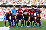 Barcelona´s initial team before La Liga match between Rayo Vallecano and Barcelona at Vallecas stadium in Madrid, Spain. October 04, 2014. (ALTERPHOTOS/Victor Blanco)