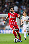 Mats Hummels of FC Bayern Munich in action during the UEFA Champions League Semi-final 2nd leg match between Real Madrid and Bayern Munich at the Estadio Santiago Bernabeu on May 01 2018 in Madrid, Spain. Photo by Diego Souto / Power Sport Images
