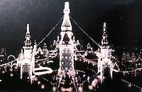 New York:  Luna Park, Coney Island, at night.  Postcard view--Koolhaus, Delirious New York.