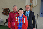 Michael McManus.after being confirmed by Bishop Michael Smith in Julianstown Church with Michael McManus.Picture:  www.newsfile.ie ..