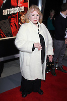 BEVERLY HILLS, CA - NOVEMBER 20: Piper Laurie at the premiere of Fox Searchlight Pictures' 'Hitchcock' at the Academy of Motion Picture Arts and Sciences Samuel Goldwyn Theater on November 20, 2012 in Beverly Hills, California. Credit: mpi27/MediaPunch Inc. /NortePhoto