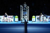 Novak Djokovic  (Serbia) v Dominic Thiem (Austria)  played at O2 Arena  London on 13th November 2016