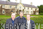Senator Paul Coughlan, Donnacha Galvin Killarney Chamber of Commerce and Cllr Niall O'Callaghan who are disappointed by the Governments refusal to give grants for the restoration of Killarney House