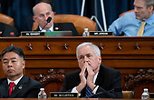 United States Representative Tom McClintock (Republican of California), attends a US House Judiciary Committee hearing on the impeachment of US President Donald Trump on Capitol Hill in Washington, DC, December 4, 2019.<br /> Credit: Saul Loeb / Pool via CNP