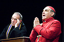 The Last Confession by Roger Crane ,directed by David Jones. With David Suchet as Cardinal Giovanni Benelli ,Michael Jayston as The Confessor. Opens at the Theatre Royal Haymarket on 2/7/07   CREDIT Geraint Lewis