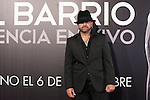 Spanish flamenco singer Jose Luis Figuereo Franco `El Barrio´ during the presentation of his new album `Esencia´ in Madrid, Spain. November 03, 2015. (ALTERPHOTOS/Victor Blanco)