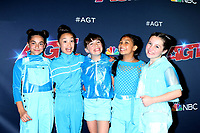 """LOS ANGELES - AUG 13:  GForce at the """"America's Got Talent"""" Season 14 Live Show Red Carpet at the Dolby Theater on August 13, 2019 in Los Angeles, CA"""