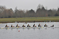 217 HamptonSchBC J14A.8x+..Marlow Regatta Committee Thames Valley Trial Head. 1900m at Dorney Lake/Eton College Rowing Centre, Dorney, Buckinghamshire. Sunday 29 January 2012. Run over three divisions.