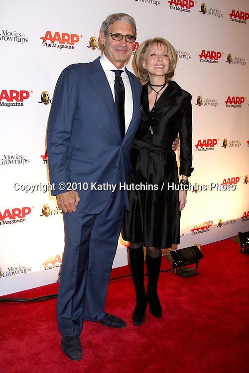 Michael Nouri & Susan Blakely.arriving at the Ninth Annual AARP the Magazine`s Movies for Grownups Awards Gala .Beverly Wilshire Hotel.Beverly Hills, CA.February 16, 2010.©2010 Kathy Hutchins / Hutchins Photo....