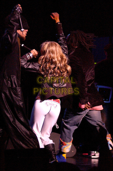 FERGIE OF THE BLACK EYED PEAS.performs live at The Wiltern Theatre in Los Angeles, California .25 March 2004.*UK Sales Only*.live, music, gig, stage, concert, singing, dancing.www.capitalpictures.com.sales@capitalpictures.com.©Capital Pictures.