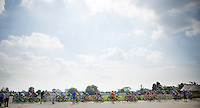"peloton over the cobbles<br /> <br /> 99th (open) Flemish Championships 2014<br /> (""Kampioenschap van Vlaanderen"")"