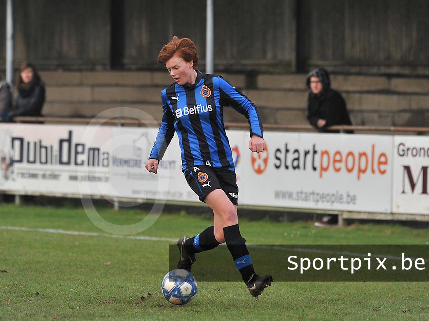 Club Brugge Dames : Jolien Nuytten.foto Joke Vuylsteke / Vrouwenteam.be