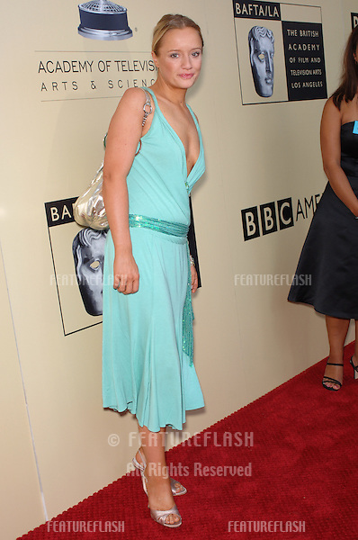 Actress LUCY DAVIS at the BAFTA/LA & Academy of TV Arts & Sciences 3rd Annual Tea Party honoring Emmy nominees..September 17, 2005  Los Angeles, CA..© 2005 Paul Smith / Featureflash
