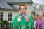 The  welcome Home  of Brendan O'Connell who won gold in Special Olympics at the Meadowlands Hotel on Tuesday