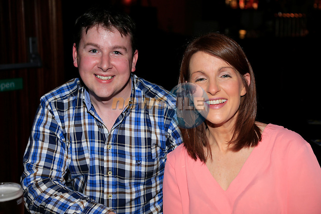 Brian Corrigan darina Corrigan out in Drogheda<br /> Picture:  www.newsfile.ie