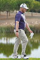 George Coetzee (RSA) on the 18th during Round 4 of the Portugal Masters, Dom Pedro Victoria Golf Course, Vilamoura, Vilamoura, Portugal. 27/10/2019<br /> Picture Andy Crook / Golffile.ie<br /> <br /> All photo usage must carry mandatory copyright credit (© Golffile | Andy Crook)