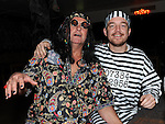 Nevin Farrell and John Heeney pictured at the Halloween fancy dress party in the Rugby club. Photo:Colin Bell/pressphotos.ie