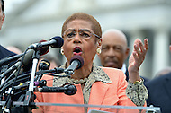 October 9, 2013  (Washington, DC)  Del. Eleanor Norton during a news conference at the Capitol on freeing D.C.'s budget from the shutdown.  (Photo by Don Baxter/Media Images International)