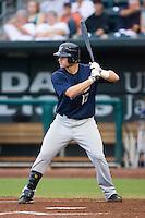 Mat Gamel (17) of the Huntsville Stars at bat at the Baseball Grounds in Jacksonville, FL, Wednesday June 11, 2008.