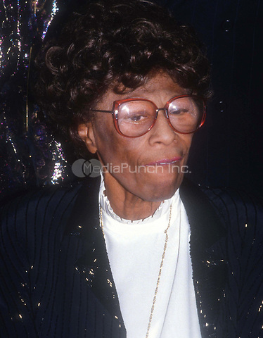 Ella Fitzgerald 1986<br /> Photo By John Barrett/PHOTOlink.net /MediaPunch