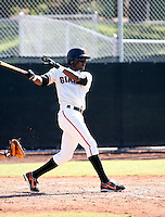 Eugenio Velez / San Francisco Giants 2008 Instructional League..Photo by:  Bill Mitchell/Four Seam Images