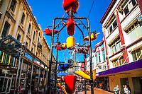 Wellington City Landmarks: The Cuba Street Bucket Fountain, Wellington, New Zealand on Tuesday, 20 October 2015. Photo: Dave Lintott / lintottphoto.co.nz