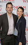 Ted Griffin and Sutton Foster attend 'The Play That Goes Wrong' Broadway Opening Night at the Lyceum Theatre on April 2, 2017 in New York City.