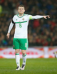Steven Davis of Northern Ireland during the international friendly match at the Cardiff City Stadium. Photo credit should read: Philip Oldham/Sportimage